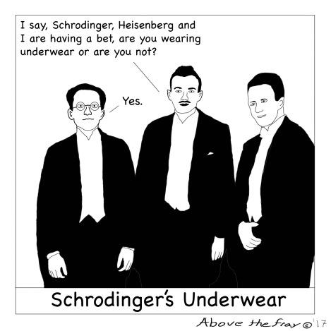 Schrodingers underwear