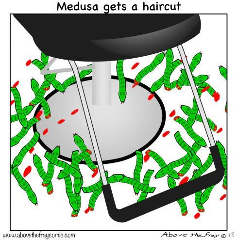 Medusa haircut