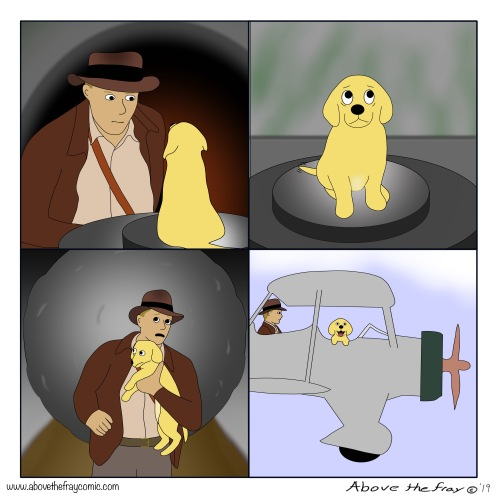 Indiana Jones Animal Rescue