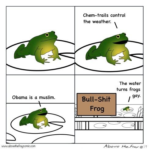 Bullshit Frog