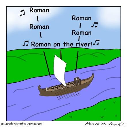 Rome Roman on the river