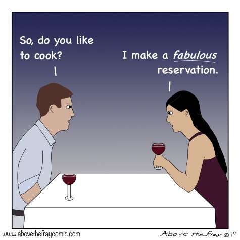 I make a fabulous reservation