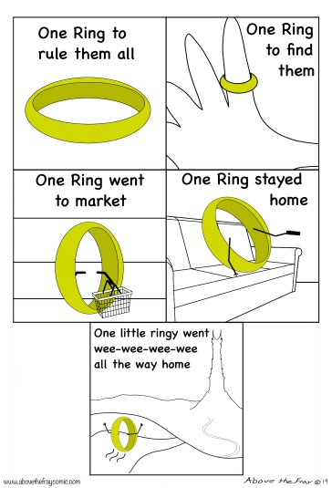 One ring to stay home