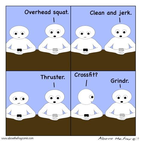 Crossfit vs Grindr