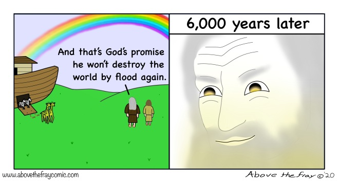 God and the flood