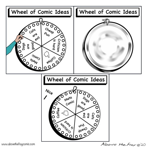 Wheel of Comic Ideas