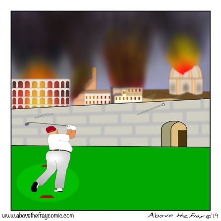 Trump burning Rome